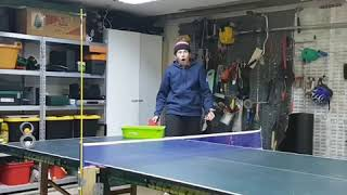 Guy Hits Ping Pong Ball Perfectly into Duct Tape Roll 1020694 2