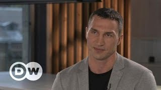 Боксер Кличко: Нельзя говорить, что все русские плохие -