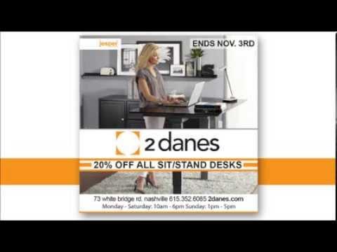 Stand Up Desks Ergonomic Workstations I Jesper Office 2 Danes Furniture Nashville