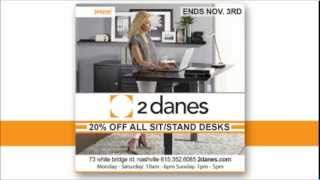 Stand Up Desks & Ergonomic Workstations Sale I Jesper Office I 2 Danes Furniture Nashville