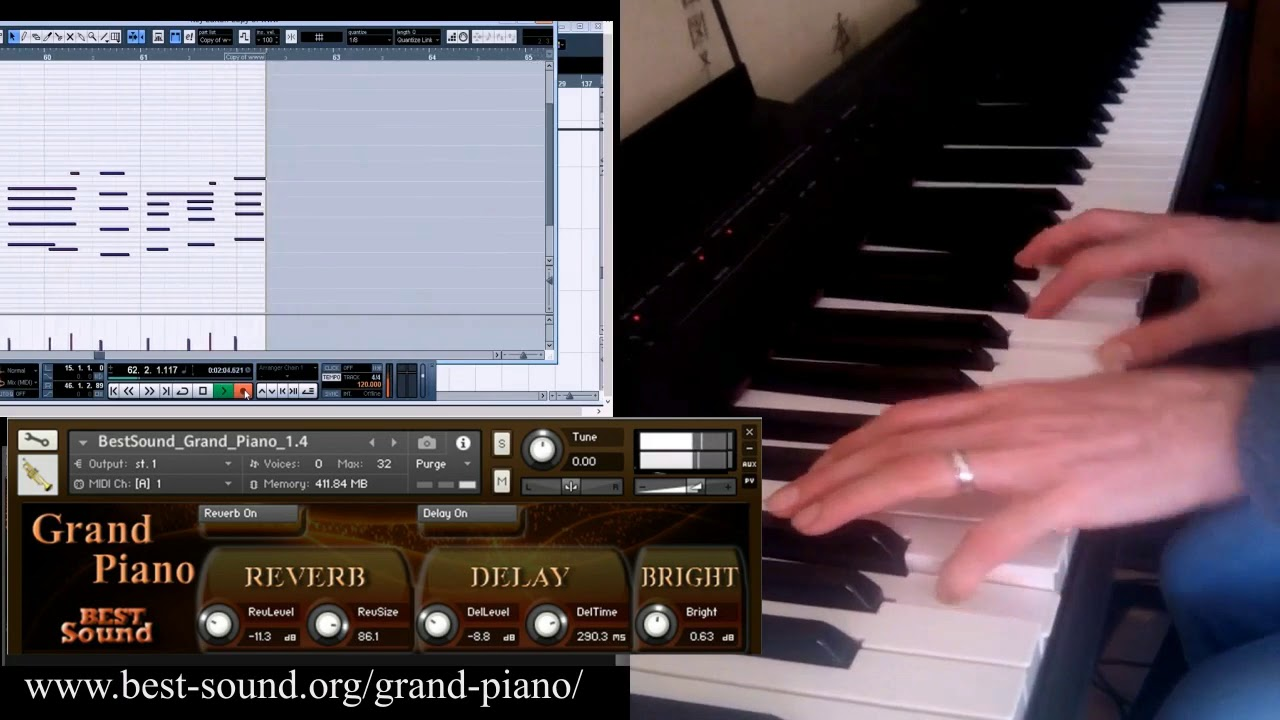 Grand Piano NI Kontakt sound library