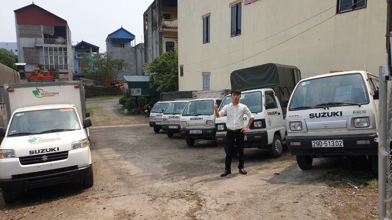 Báo giá chi tiết xe tải SUZUKI cũ mua COVID | Minh Mũ Cối |