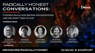 Radically Honest Conversations: Funding Black and Brown Organizations Like We Want Them to Win