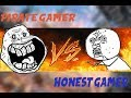 Pirate Gamers VS Honest Gamers!! BOUGHT VS PIRATED GAMES!! OMG VERSION!!