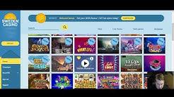 Sweden Casino - Esittely, Bonus & Ilmaiskierrokset