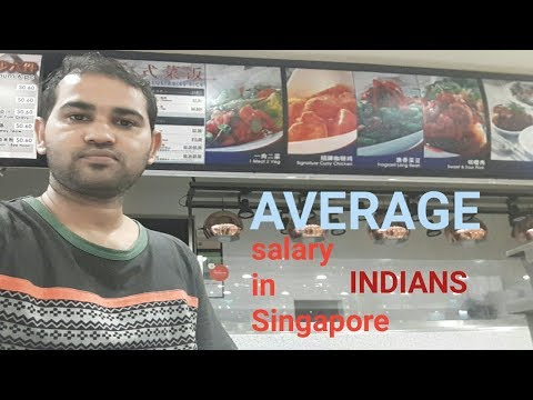 Salary In Singapore For Indians
