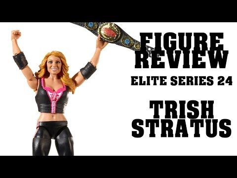 FIGURE REVIEW - WWE Mattel TRISH STRATUS Elite Series #24 Figur [German/Deutsch] thumbnail