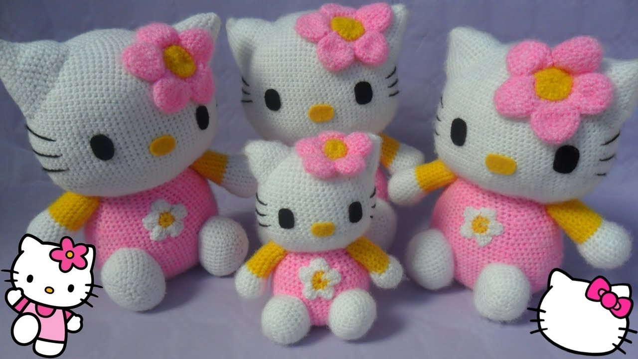 Crochet Hello Kitty free pattern amigurumi | Amigurumi Space | 720x1280