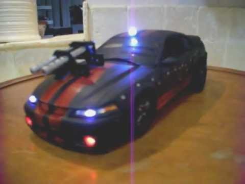 """Mustang Cobra Jet >> """"DEATH RACE"""" Ford Mustang Cobra Mad Max Battle Damage ..."""