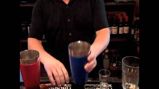 """Behind The Bar With The Bistro's Tony Ryherd Bowling Green Making A """"watermelon Fizz"""""""
