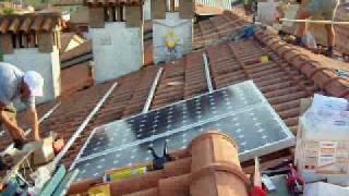 Montaggio fotovoltaico(Video illustrativo sulle modalità di realizzazione di un impianto fotovoltaico