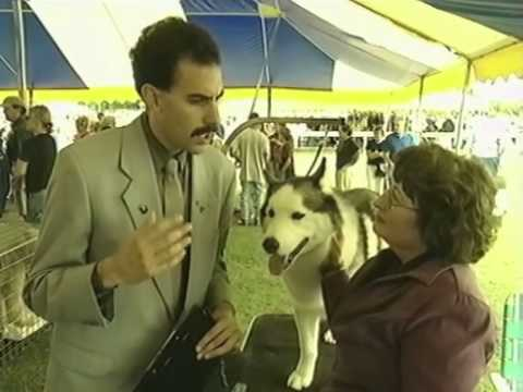 Borat - Learning about dogs - Rare