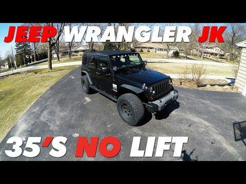 Jeep JK 35's No Lift