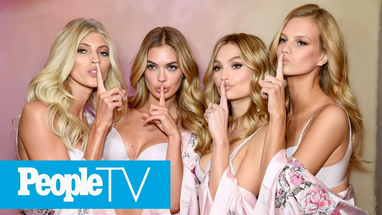 43887df19c826 Behind The Scenes Of 2017 Victoria's Secret Fashion Show With Model Adriana  Lima | PeopleTV