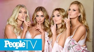 Behind The Scenes Of 2017 Victoria's Secret Fashion Show With Model Adriana Lima | PeopleTV