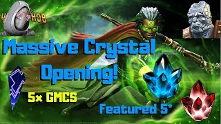 UNBELIEVABLE! Massive Crystal Opening! 5* Featured! - Marvel Contest of Champions