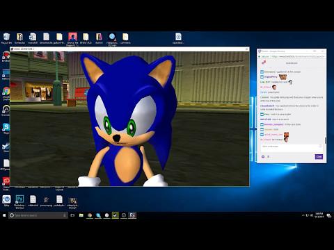 Dunkey Streams Sonic Adventure 2 w/ Leah