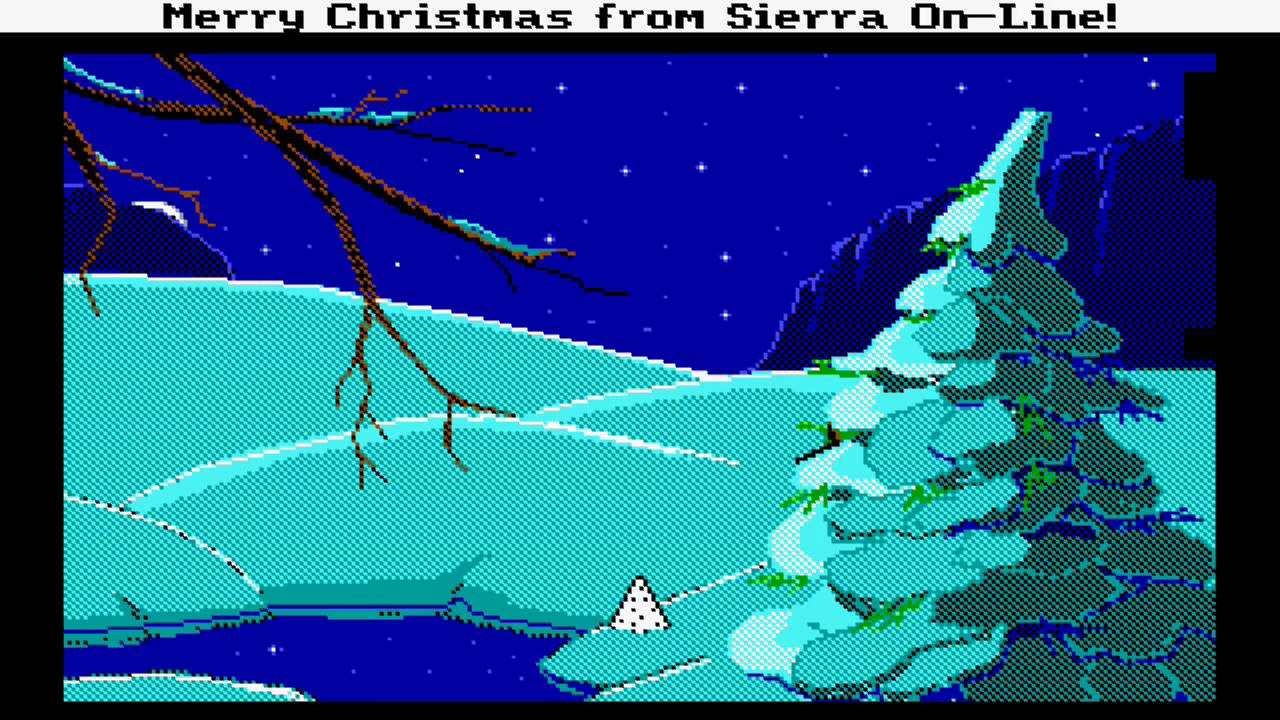 Sierra-Online Electronic Christmas Card \