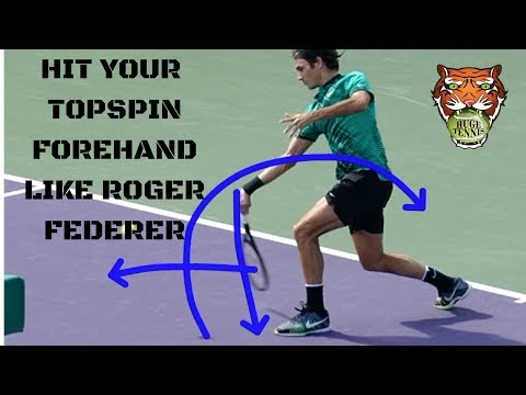 How To Hit Your Topspin Forehand Like Roger Federer
