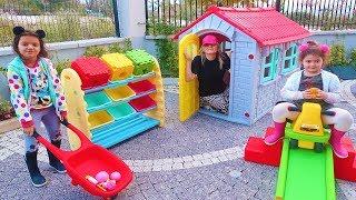Öykü ve Masal Renkli Sihirli Kutu Alıyor İçinde Sürpriz Hediyeler -  Magic Colors Box Funny Kids