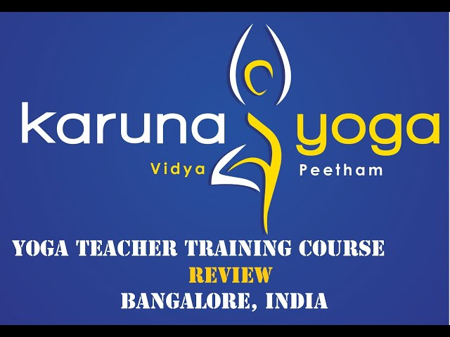 REVIEW - YOGA COURSE, BANGALORE, INDIA.