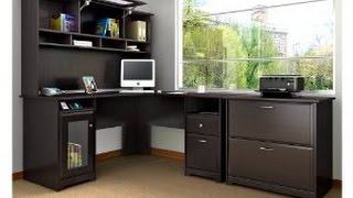 The Cabot Collection L Desk.  Click Link Below For Best Price!