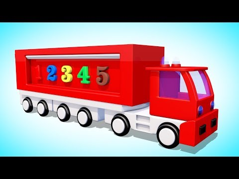 Видео: Мультик про машинки. Учим Цифры Цвета.  Развивающий мультфильм для детей. Волшебство ТВ