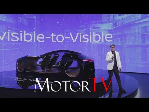 CES 2019 : Nissan Invisible-to-Visible Tech Unveiling & Demo