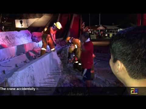 Flyover Bridge Under Construction in Cavite collapses