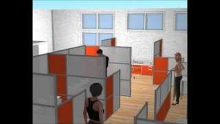 Idivide Your Space...idividewalls.com - Modern Office Partitions & Room Dividers