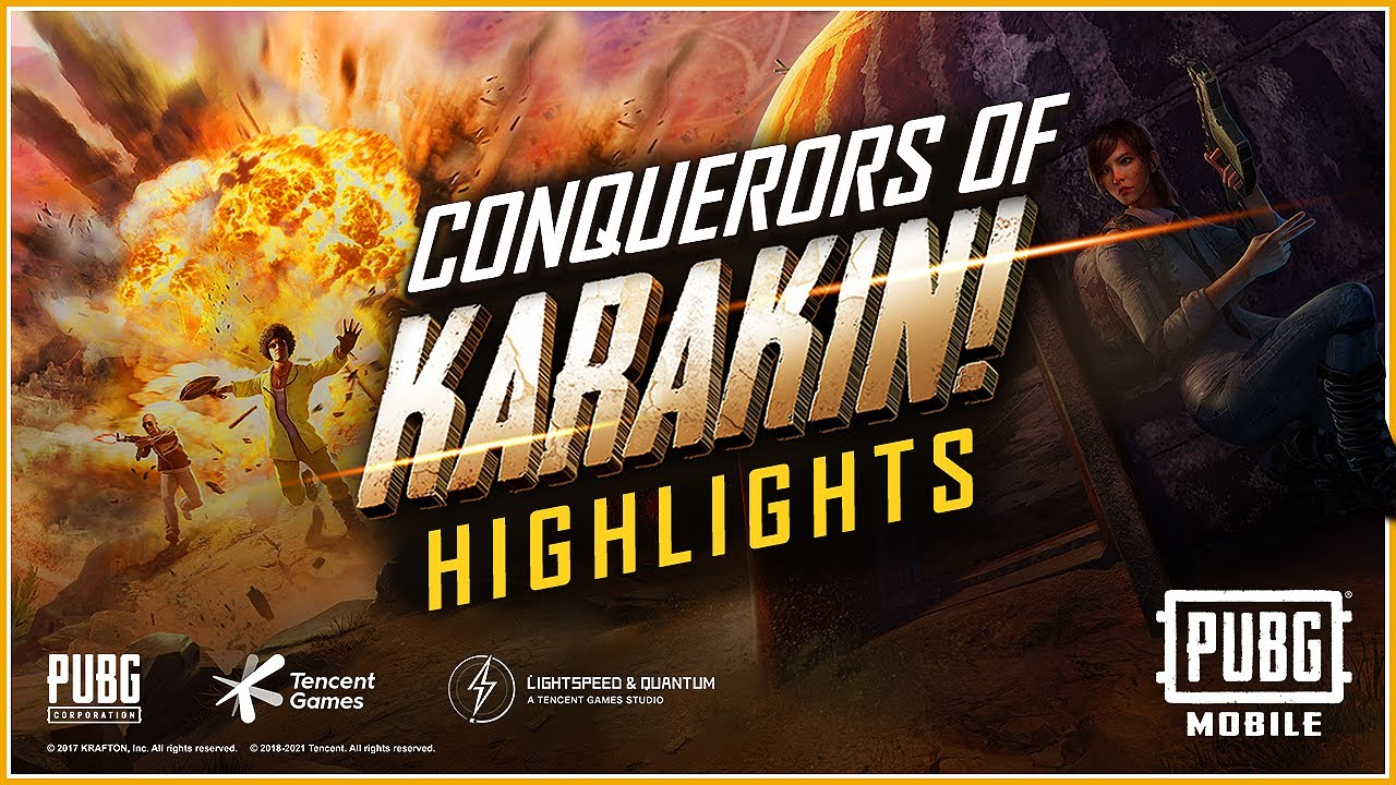 The CONQUEROR of KARAKIN is...