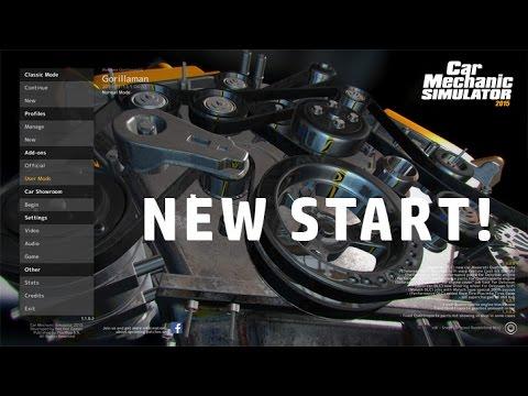 Car Mechanic Simulator 2015 | Episode 1 A New Start |
