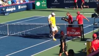 Grigor Dimitrov MATCH POINT vs Mischa Zverev Rogers Cup Montreal 2017