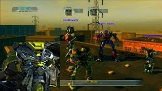 Transformers : Revenge of the Fallen - Ratchet Train Yard Gameplay