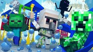 Minecraft | Morph Hide and Seek - Baby Monsters Mod! (Atlantis Roleplay)