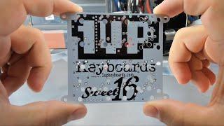 How to assemble the Sweet16 Macro Pad Mechanical Keyboard Kit