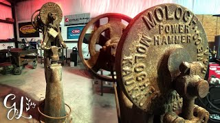 Rusty Power Hammer Restoration