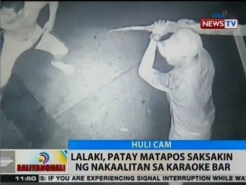 BT: Lalaki, patay matapos saksakin ng nakaalitan sa karaoke bar sa Maynila