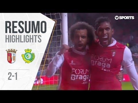 Highlights   Resumo: Braga 2-1 V. Setúbal (Liga 18/19 #9)