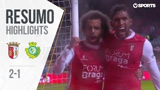 Highlights | Resumo: Braga 2-1 V. Setúbal (Liga 18/19 #9)