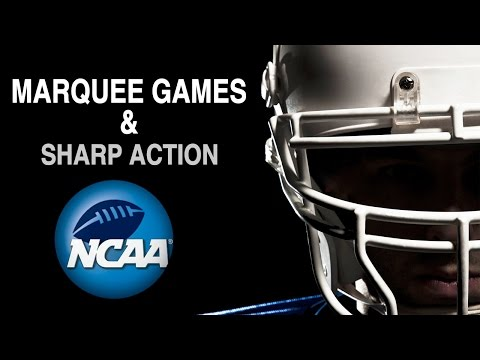 Into The Weekend with BetDSI College Football Week 1 - Marquee Games, Sharp Action