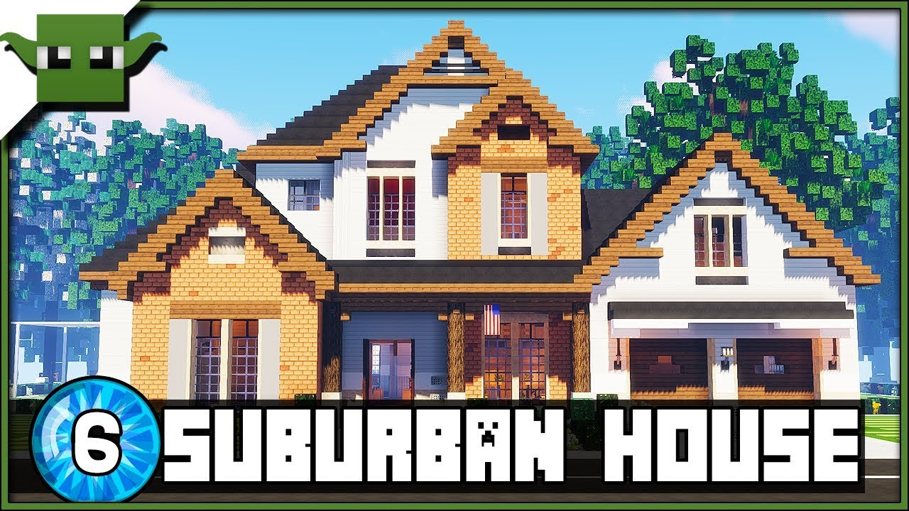 Minecraft 8.83 Suburban House 8 Creative Showcase