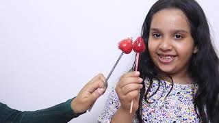 Kids learn color with fruit candies - finger family song - Kinderlieder und lernen Farben