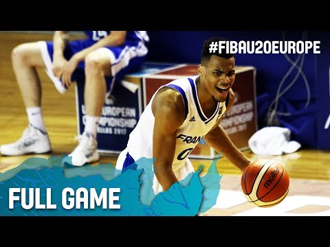 France v Czech Republic - Full Game - Round of 16 - FIBA U20 European Championship 2017
