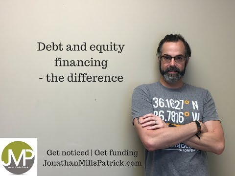 Debt versus equity financing - the differences