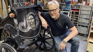 Adam Savage's One Day Builds: Rickshaw Carriage!