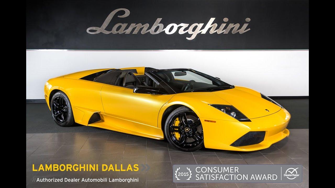 2008 Lamborghini Murcielago Lp640 Roadster Giallo Orion L0765 Youtube