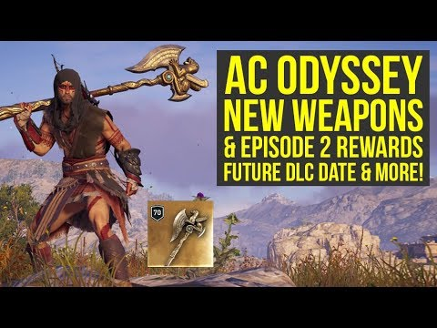Assassin's Creed Odyssey Best Weapons & Other Rewards ADDED WITH DLC (AC Odyssey Best Weapons) thumbnail