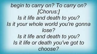 B L A Z E - Life And Death Lyrics
