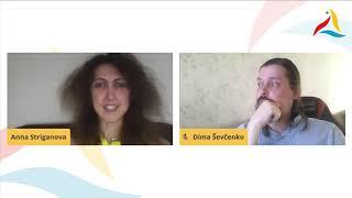 VK 2020: Legantoj de la revuo Esperanto (Dima Ŝevĉenko kaj Anna Striganova)